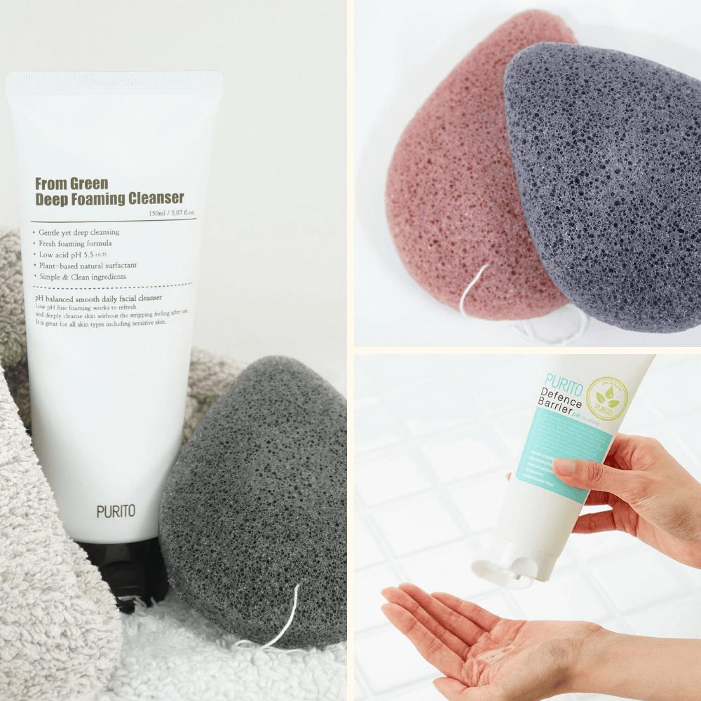 oczyszczanie-mycie-twarzy